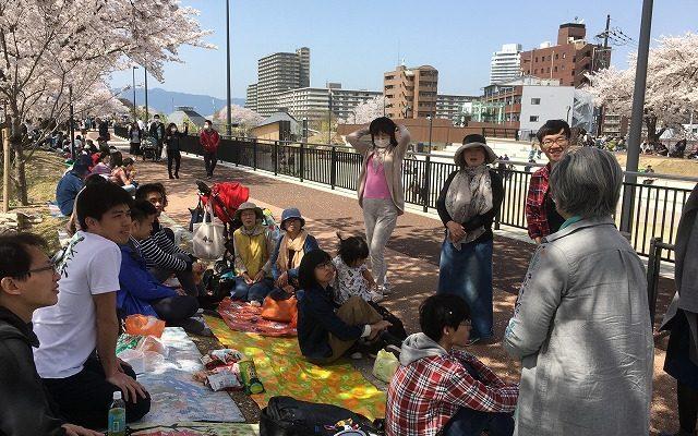 にほんご広場花見(2018.3.31)